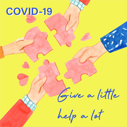 Give a little, help a lot